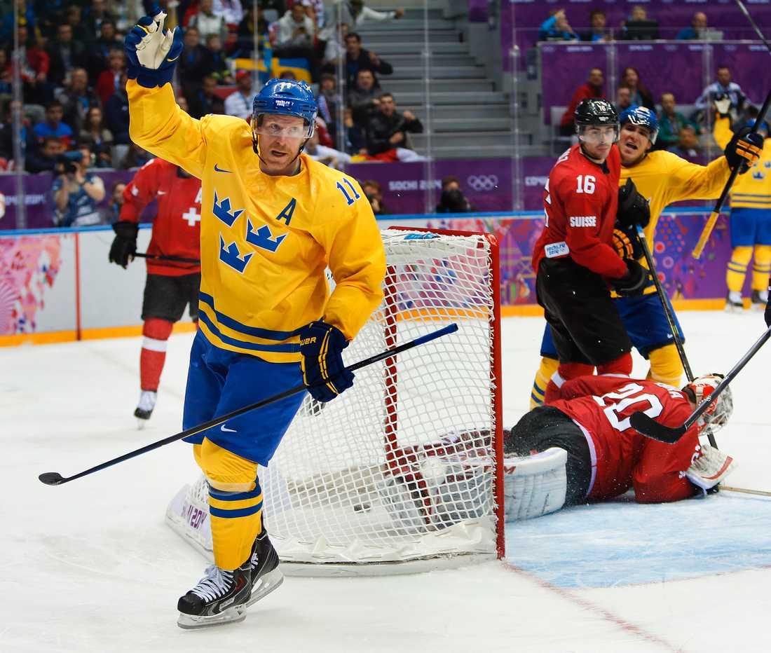 Alfredsson gjorde två mål och två assist för Tre Kronor i OS 2014.