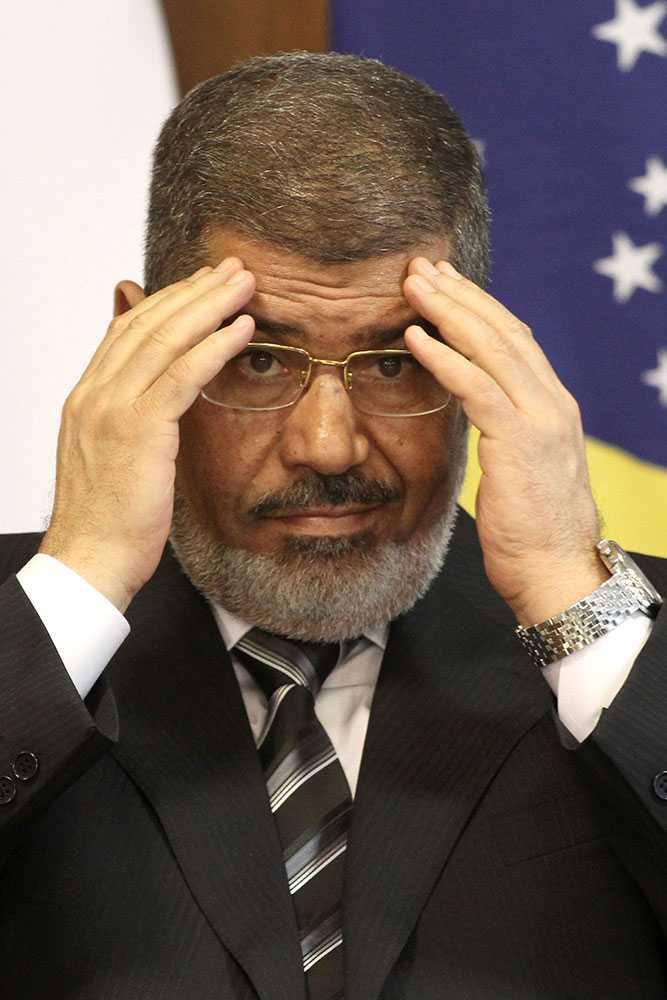 Egyptens president Muhammad Mursi.