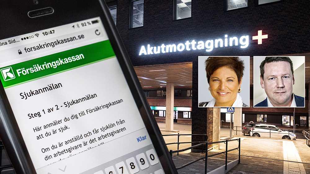 Att återinföra karensavdraget skulle drabba svenska arbetstagarna orimligt hårt. Karensavdraget måste tas bort permanent för att inte straffa människor ekonomiskt för att de tar ansvar, skriver debattörerna.