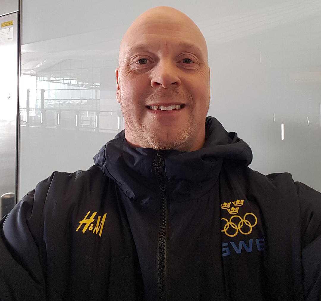 """""""Det var en fantastisk känsla"""", säger SOK:s fystränare Jesper Sjökvist om storvinsten på V86."""