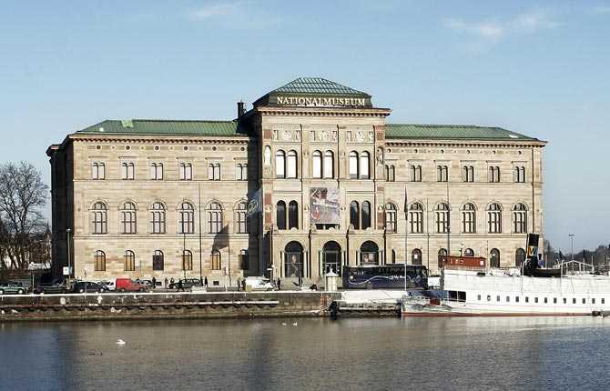 Drabbas om havsnivån stiger med två meter Nationalmuséet, Stockholm.