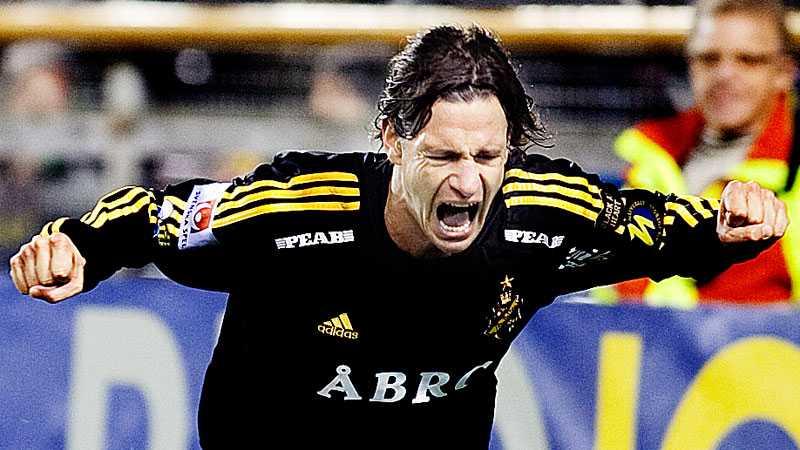 Ivan Obolo var med och tog SM-guld med AIK 2009.