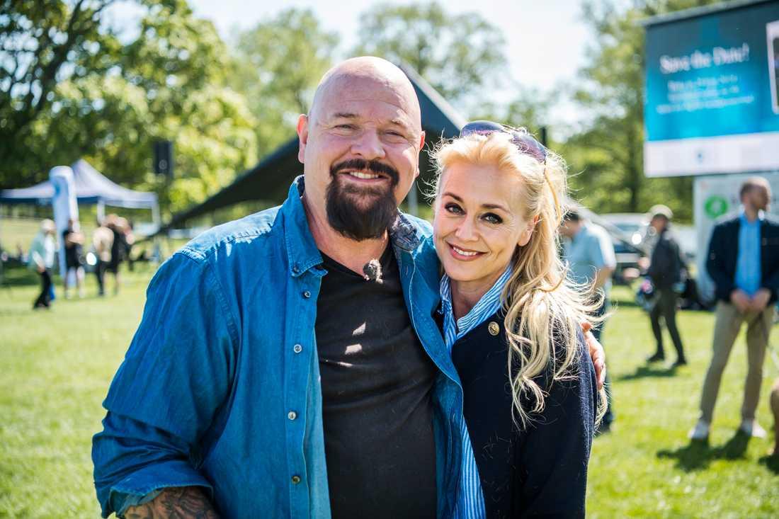 Anders Bagge och andra hälften Johanna Lind
