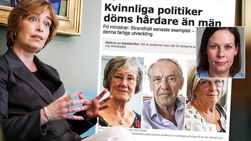 Det är på grund av Annika Strandhälls agerande vid avsättningen av Ann-Marie Begler och hennes bristande förklaringar som Annika Strandhäll inte längre förtjänar Moderaternas förtroende, skriver Maria Malmer Stenergard (M).