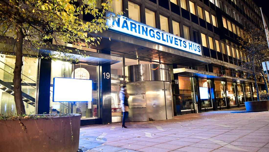 Svenskt Näringslivs kontor på Östermalm i Stockholm.