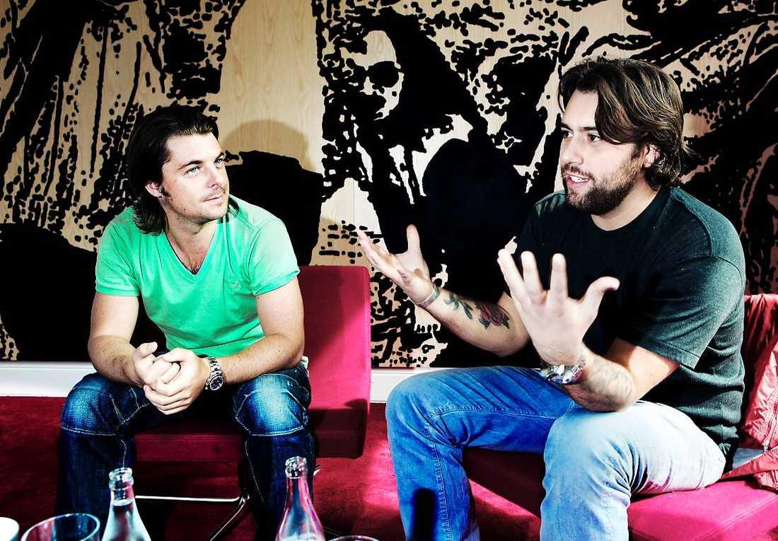 Axwell, Sebastian Ingrosso och Steve Angello (ej i bild) har stabila solokarriärer.