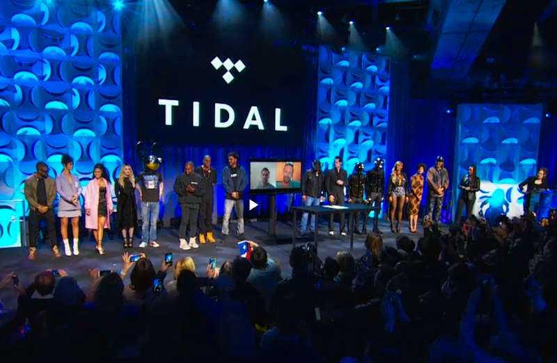 Jay Z är en av ägarna bakom Tidal.