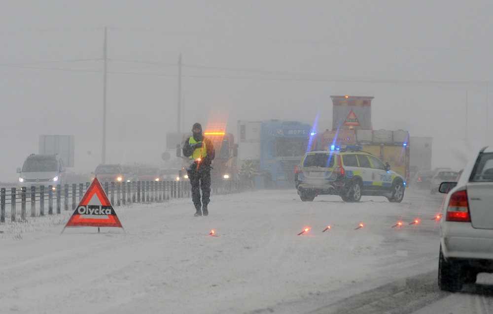 Olycka utanför Nyköping.