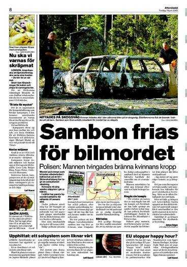 Aftonbladet 14 juni.