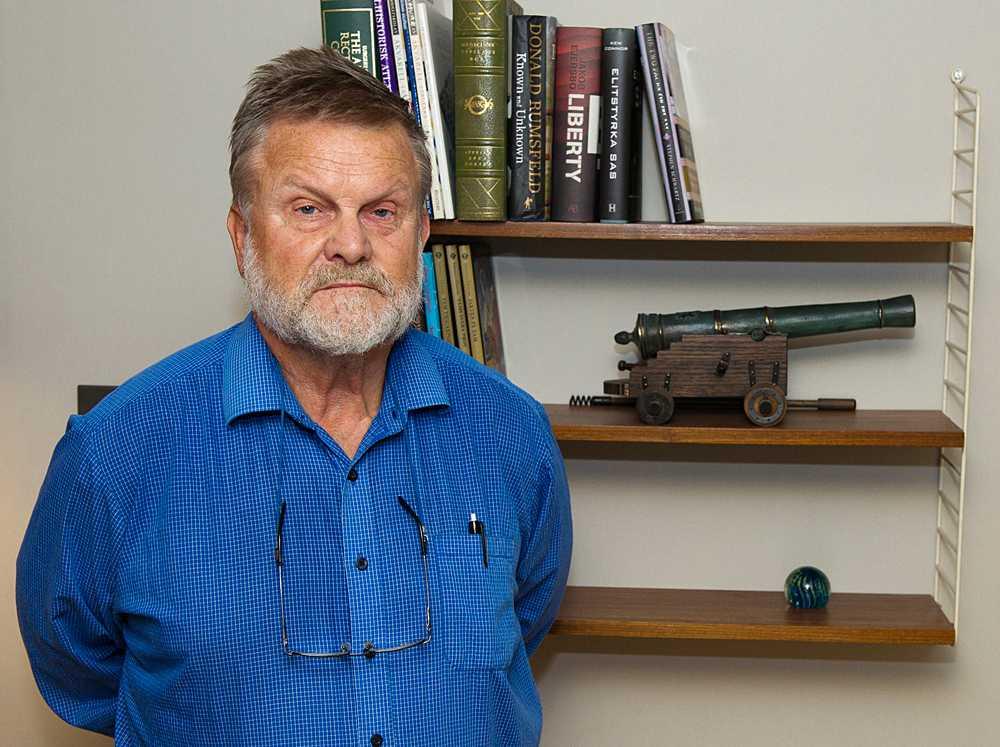 Göran Frisk, pensionerad kommendör i flottan.