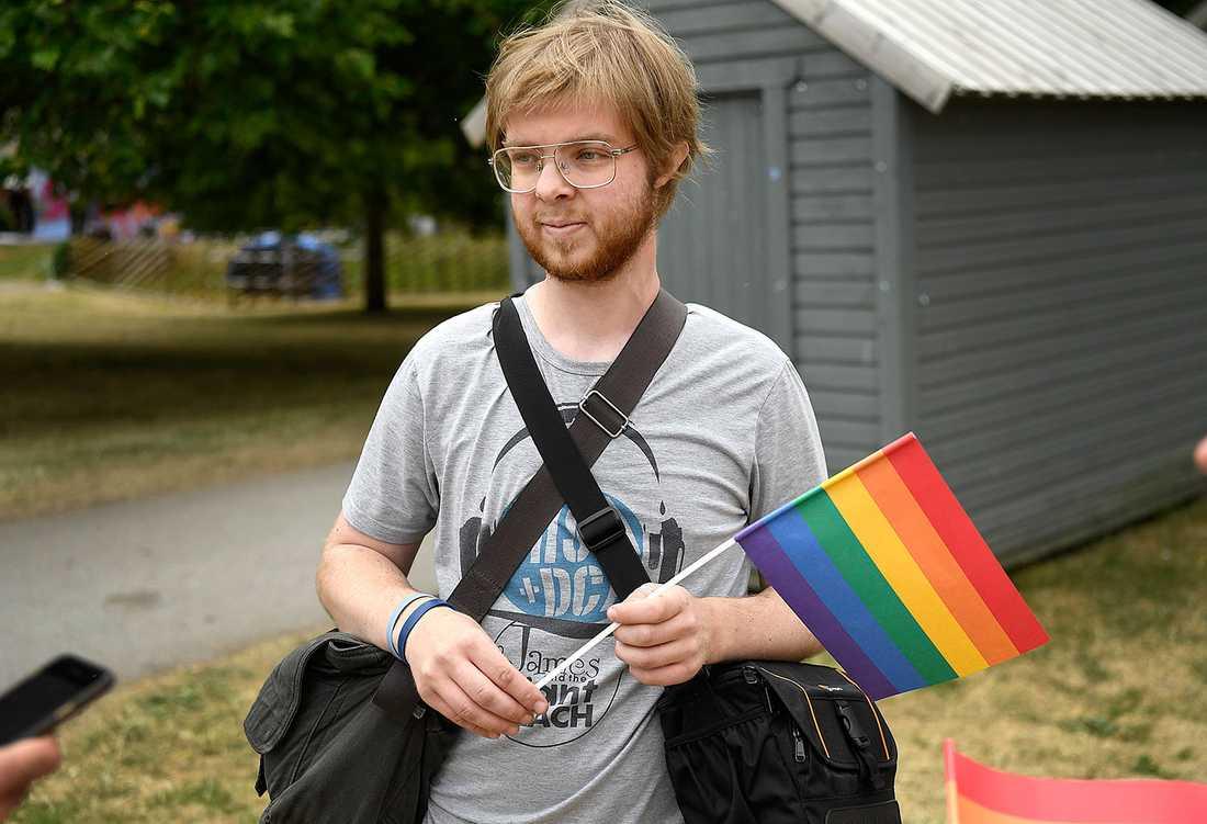 """""""Jag blev och rädd och arg"""", säger Eskil Hjulström."""