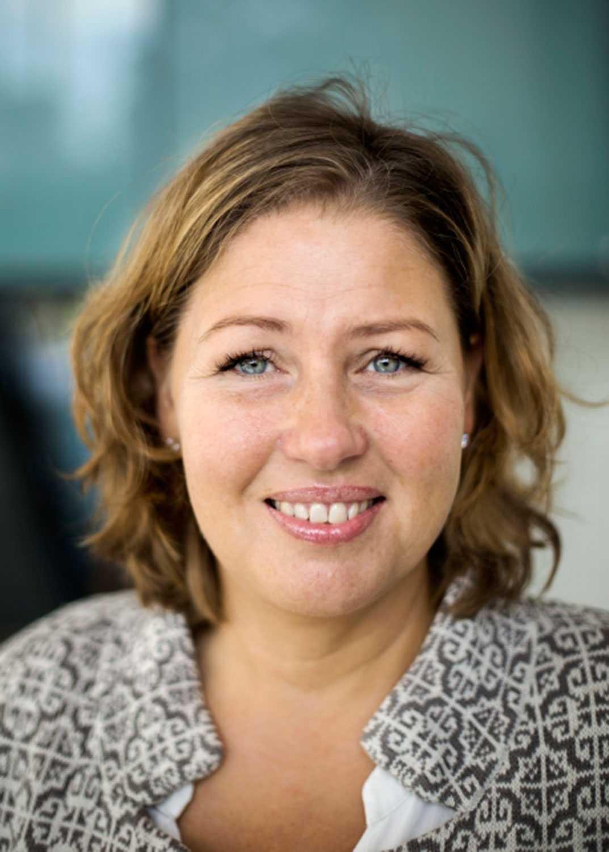 Marie Grusell, mediforskare vid Göteborgs universitet.