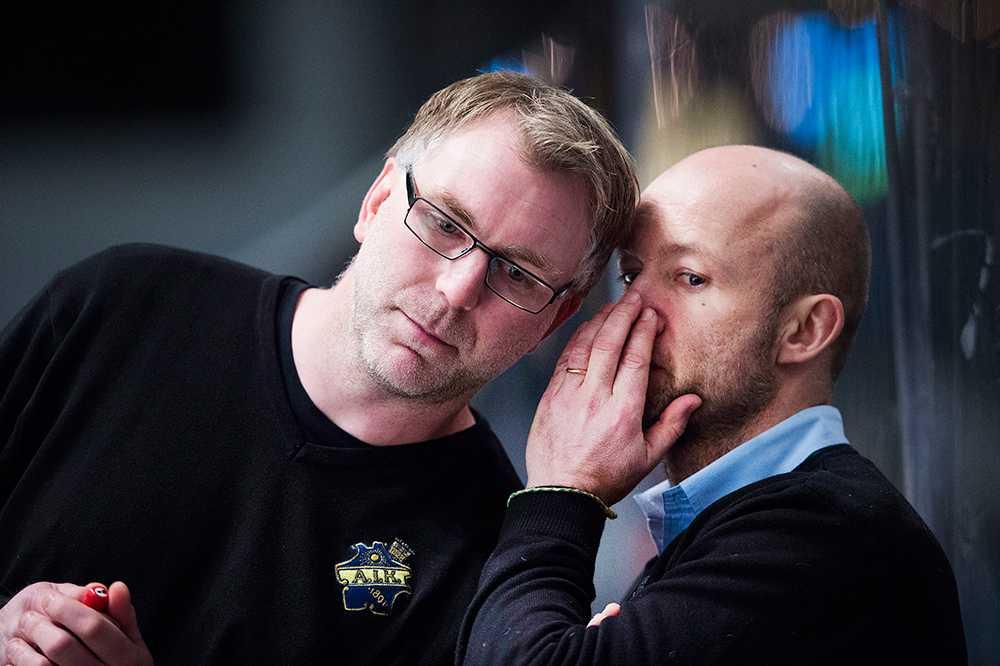 """""""Ankan"""" riktar stenhård kritik mot Micke Nylander (t.h.). Han vill istället att Peter Nordström (t.v.) får större eget ansvar."""