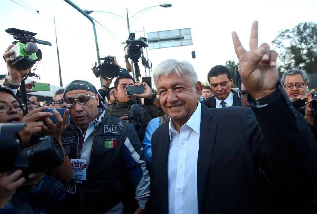 Mexikos nya president Andrés Manuel López Obrador.