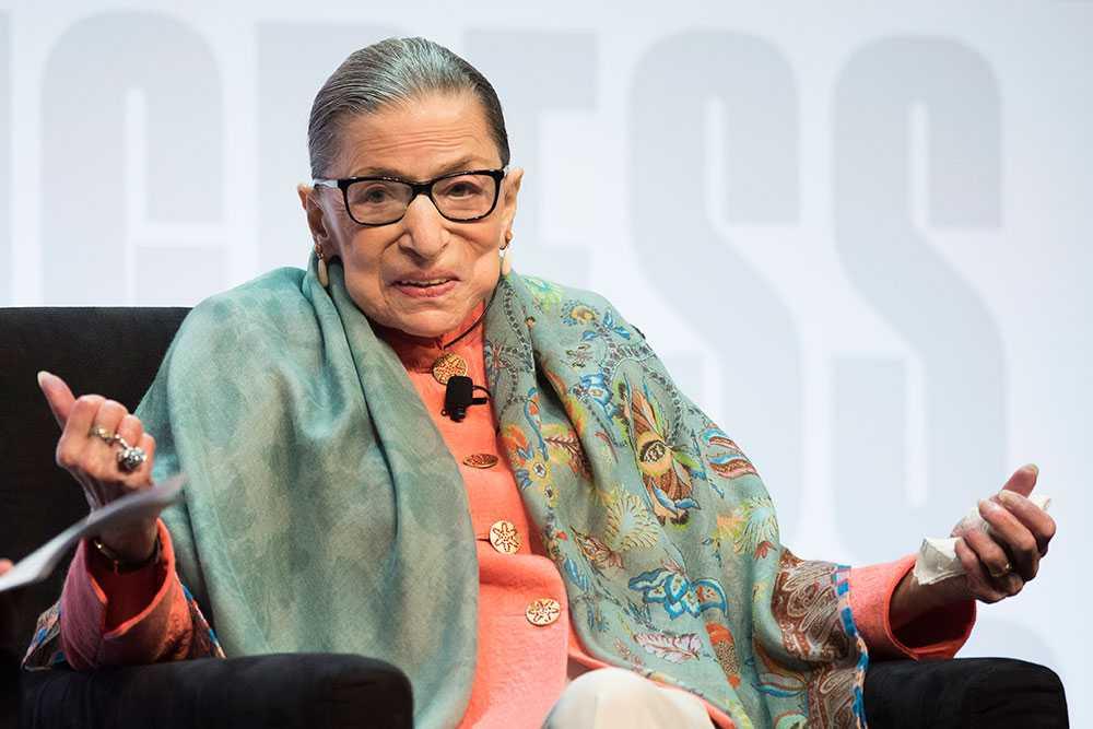 Ruth Bader Ginsburg, domare vid USA:s högsta domstol, avled den 18 september 2020.
