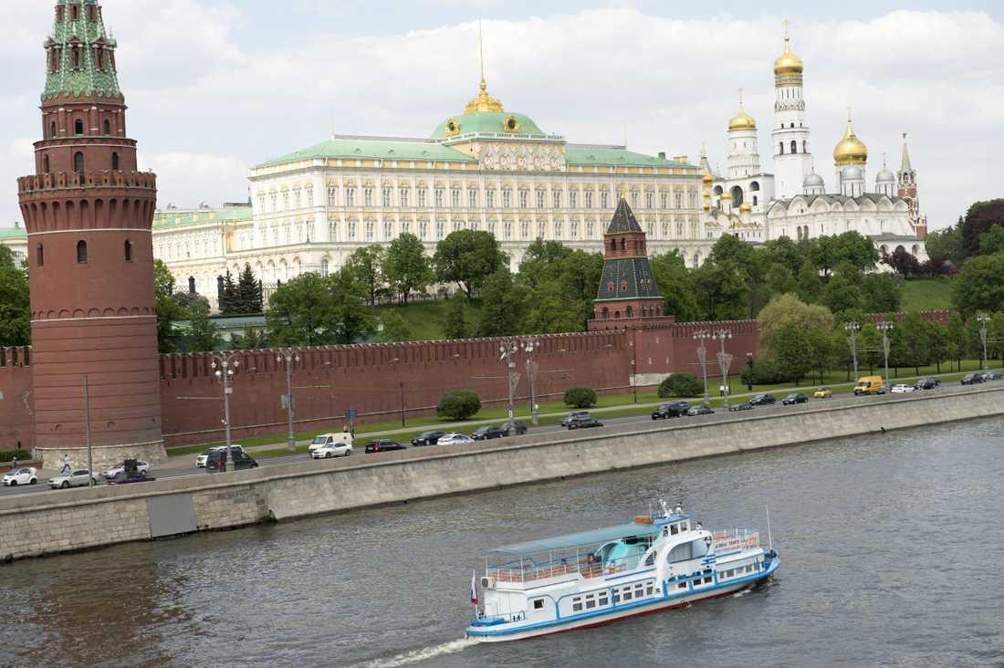 Maktcentret Kreml i Moskva. Arkivbild.