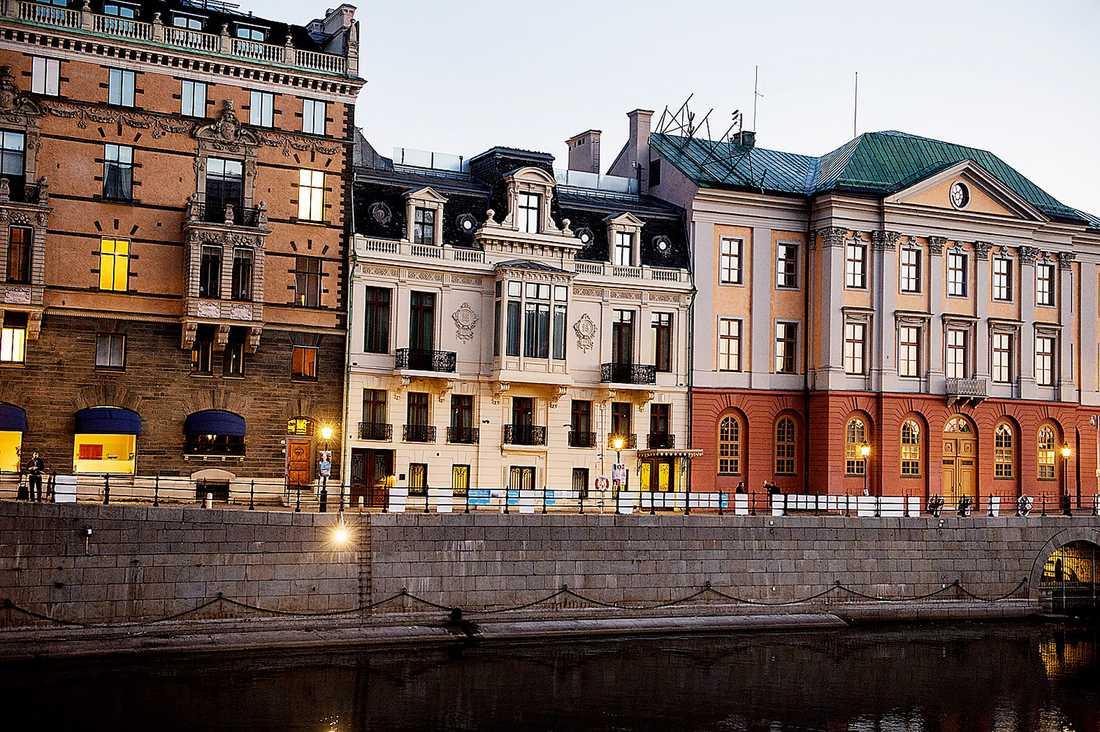 Sagerska palatset på Norrmalm i Stockholm.