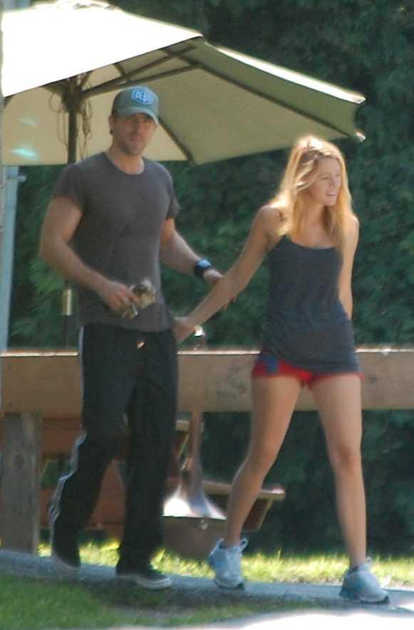 Blake och Ryan tränar tillsammans också.