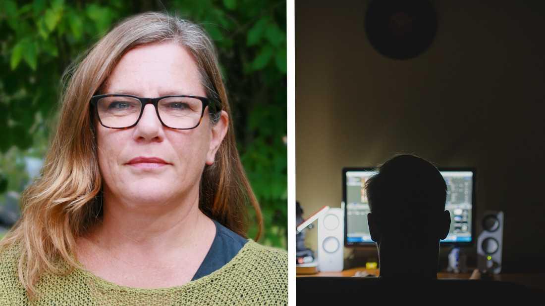 Anneli Häyrén anser att det finns en ökad hotbild mot genusvetare.