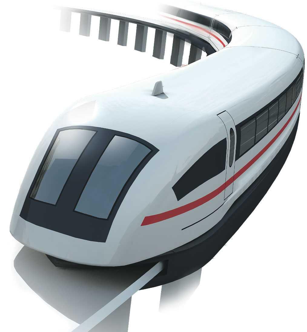 KINA HAR VÄRLDENS SNABBASTE TÅG Namn: Shanghai Maglev (Magnetic Levitation). Startår: 2003. Maxhastighet: 431 km/tim. Maglevtåget kör 431 km/tim i reguljärtrafik och är världens snabbaste tåg. Tåget innehar även världens hastighetsrekord på 581 km/tim.