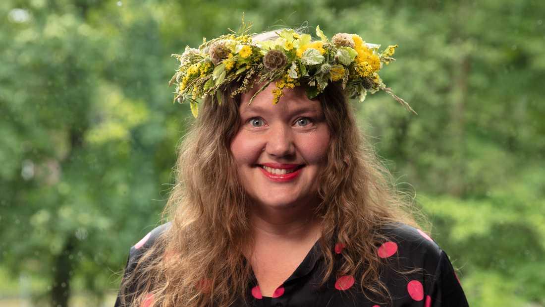 "Anna Roslin Rönnlund i ""Sommar i P1""."