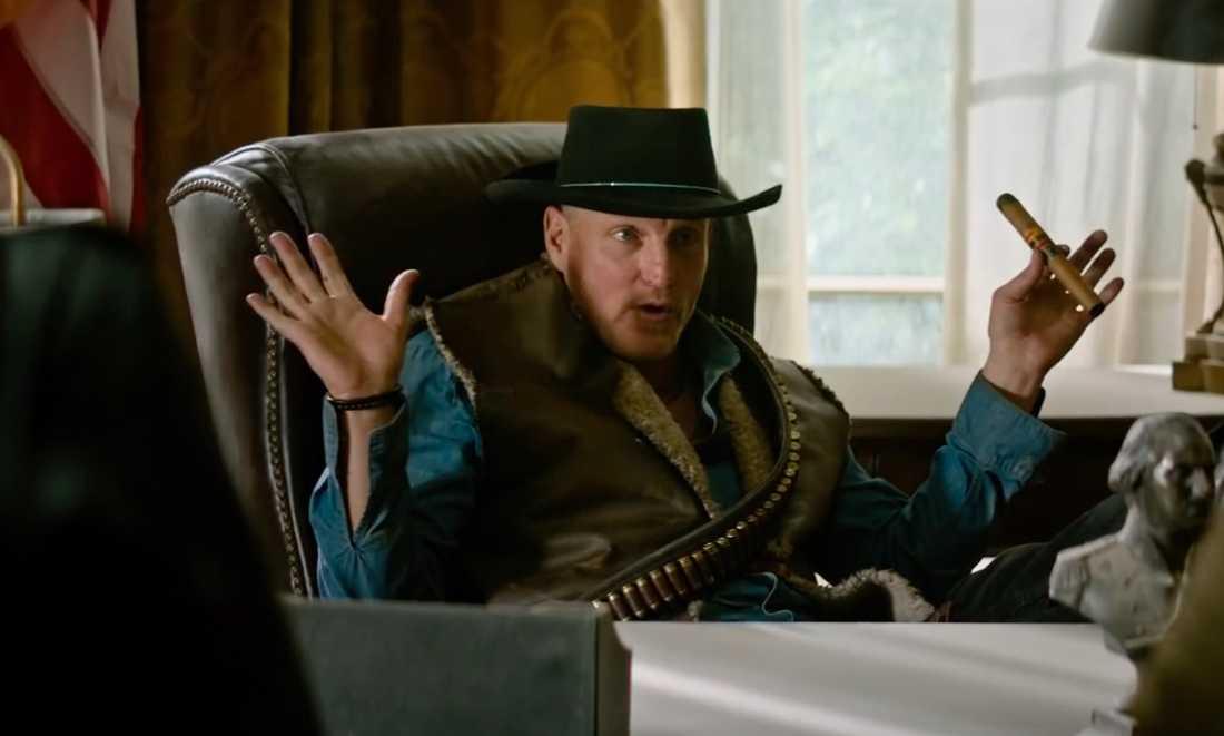 "Woody Harrelson i ""Zombieland: Double tap""."
