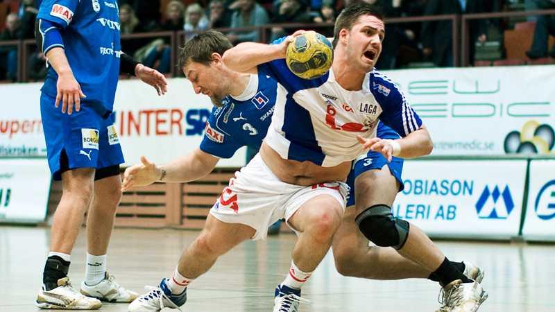 RIK:s Almir Suljevic vräker sig fram.