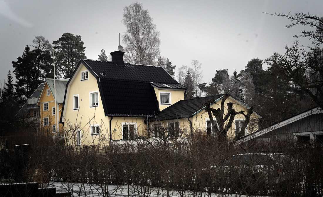 2009 flyttade paret in i det här huset i norra Stockholm.