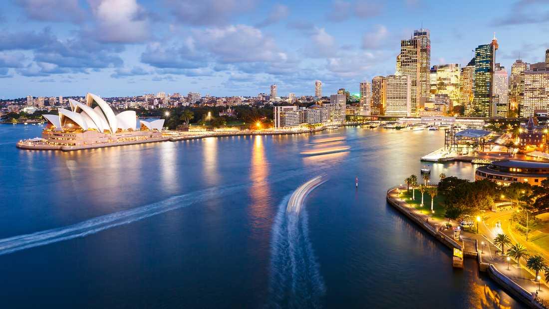 Sydney är en riktig reseraket bland svenskarna.