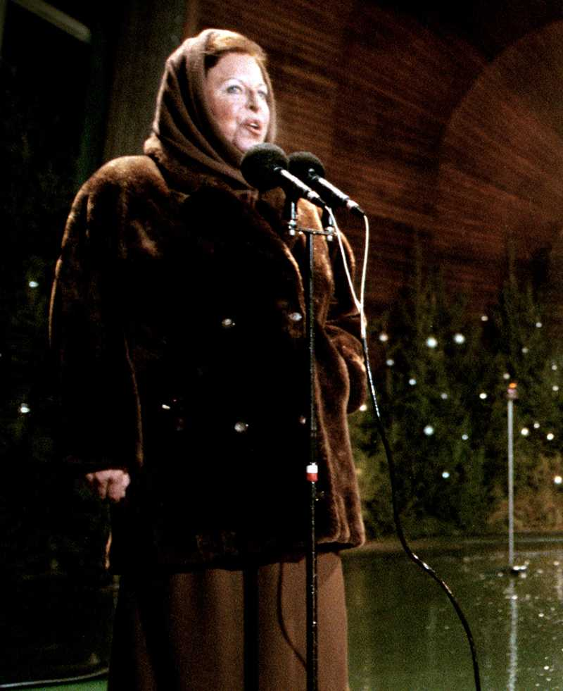 Tidigare nyårsprofiler Margaretha Krook 1997-2000.