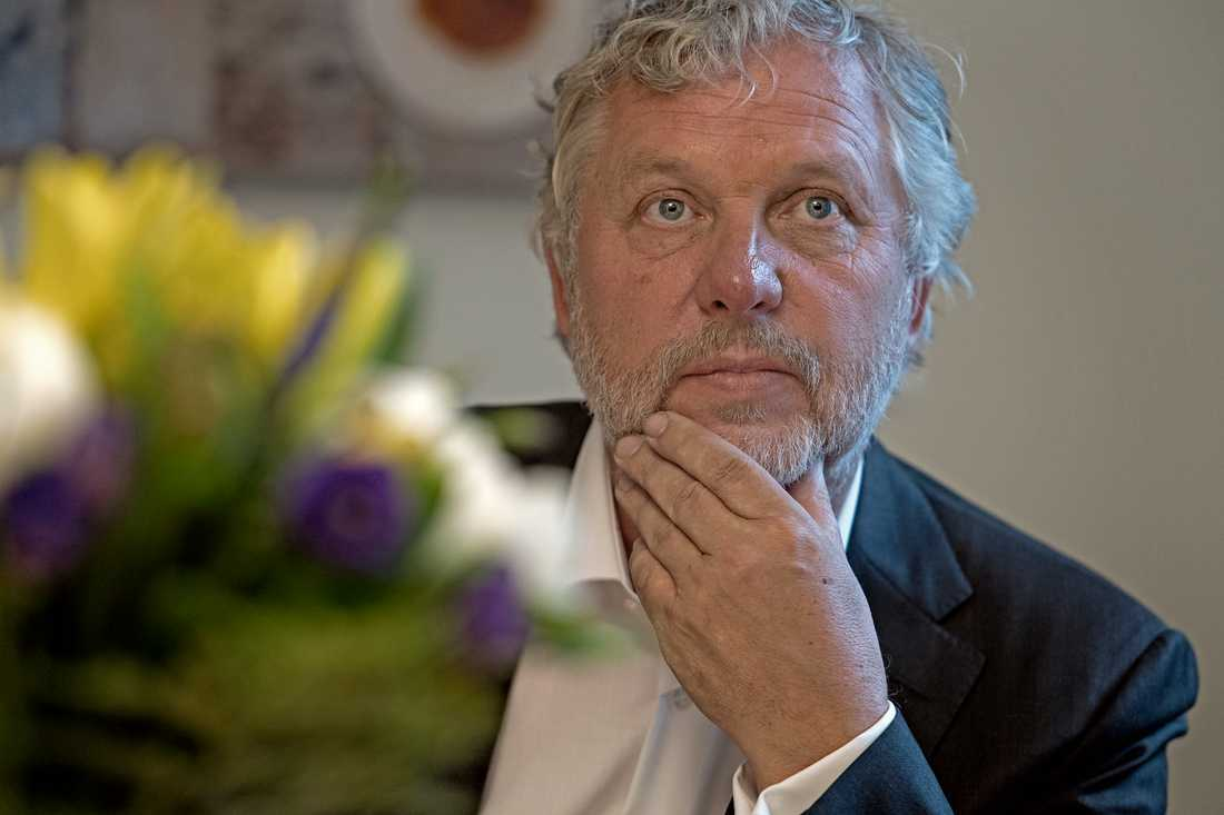 Peter Eriksson (MP), bostadsminister.