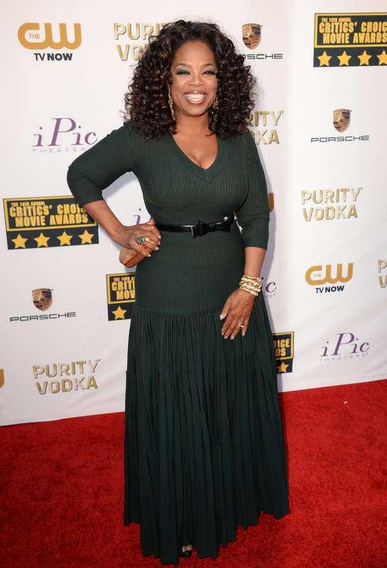 Oprah Winfrey, programledare.