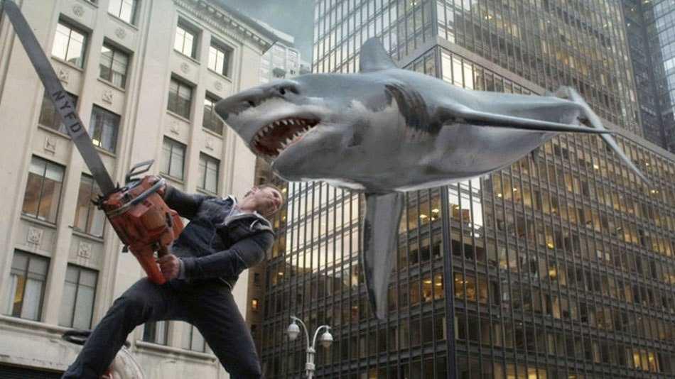 """Hajstormar i """"Sharknado""""."""