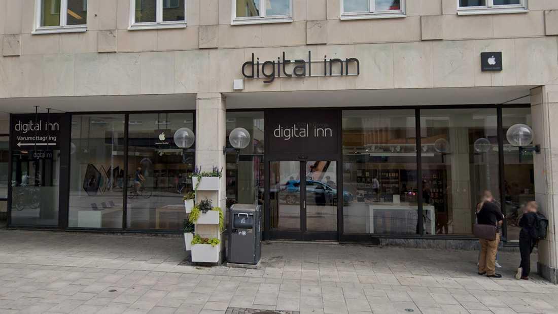 Digital inn, med butik på Dragarbrunnsgatan i Uppsala, har försatts i konkurs.