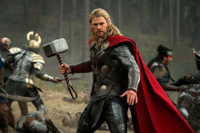 Humorspåret fick Chris Hemsworth att fortsätta som Thor.