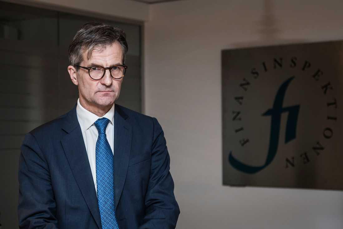Erik Thedéen, generaldirektör för Finansinspektionen. Arkivbild.
