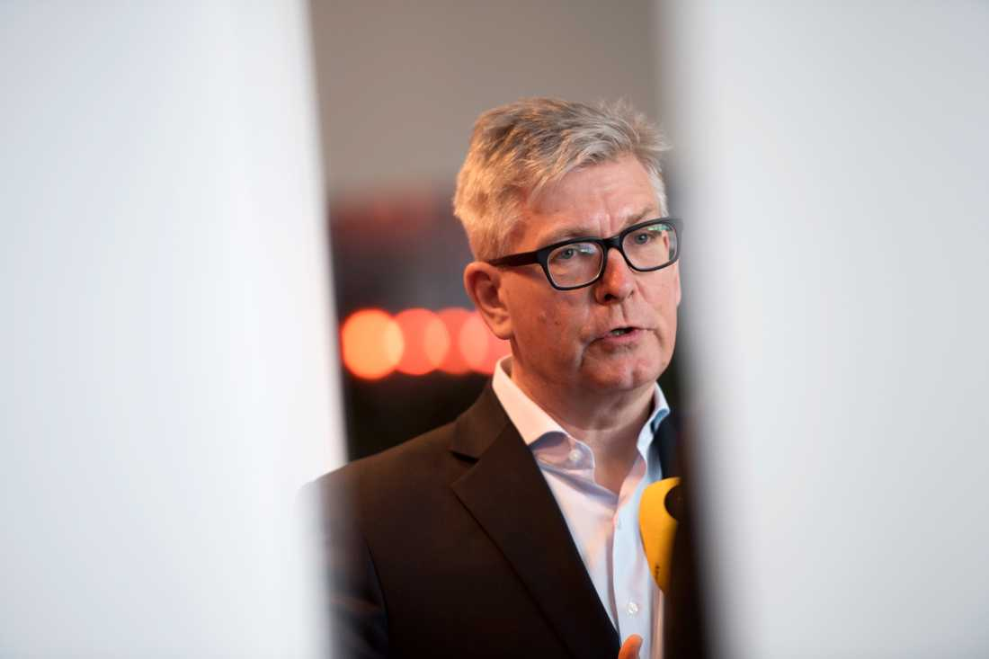 Ericssons vd Börje Ekholm.