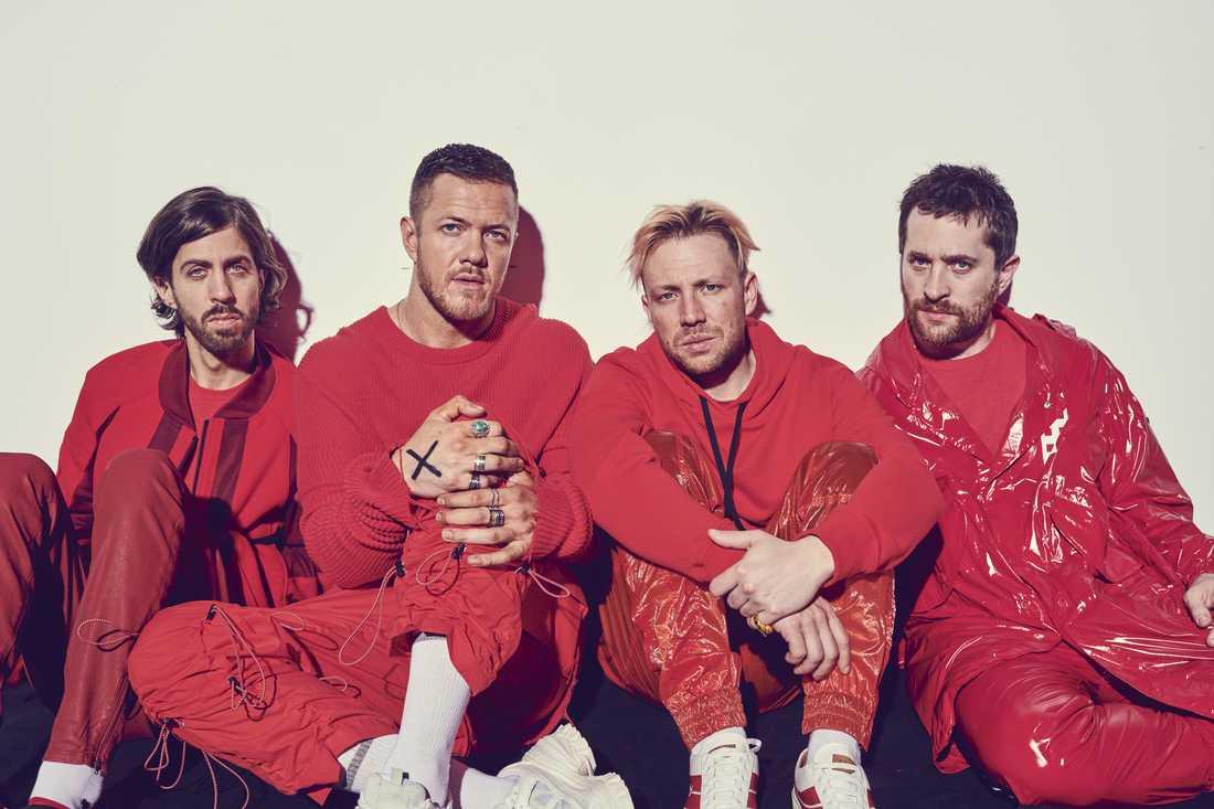 Imagine Dragons jobbar flitigt. Bandet har släppt tre album på lika många år.
