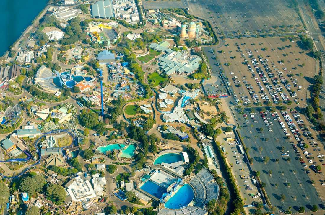 Seaworld har tre djurparker i USA.