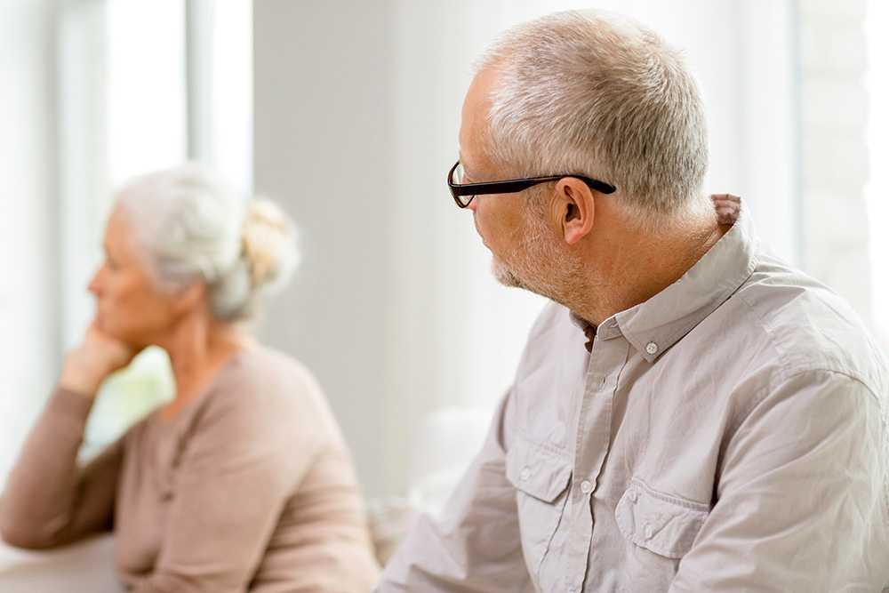 3ff428fb81f2 När föräldrar skiljer sig på senare år kan det väcka många känslor.