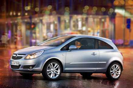 På andra plats. Opel Corsa.