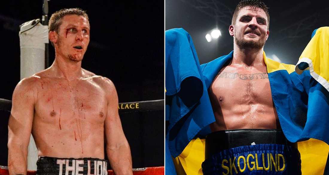 """Ryno """"The Lion"""" Liebenberg  ställs mot Erik Skoglund."""