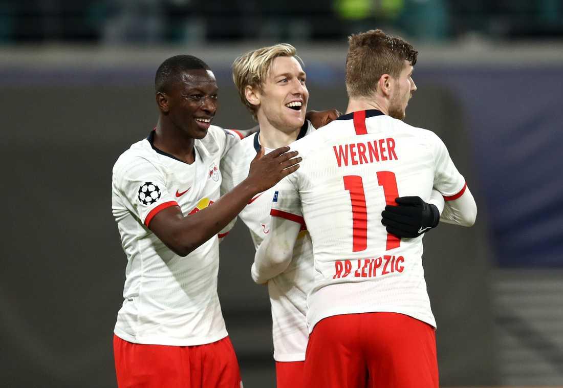 Emil Forsberg satte 3–0-målet