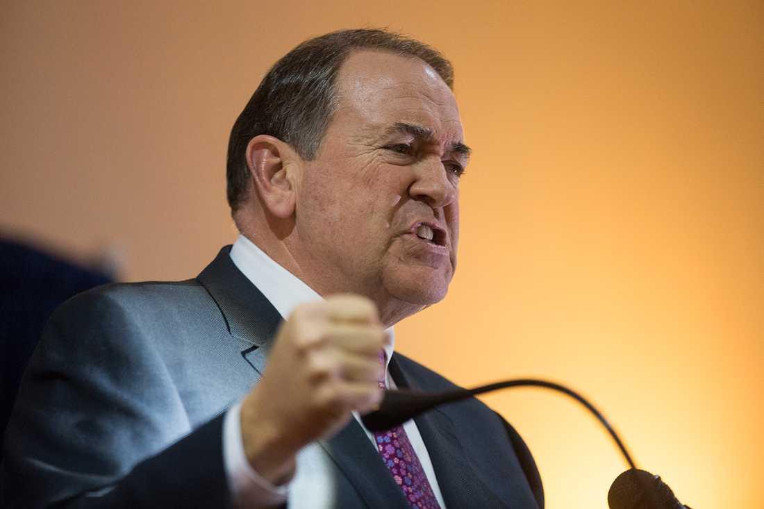 Mike Huckabee, 59, ex-guvernör, Arkansas.