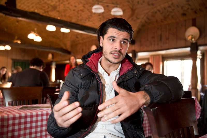 """Rimon Lahdo, 27, Örebro, dj: """"Jag var så inställd på att allt skulle vara katastrof så då blev allt automatiskt helt ok."""""""