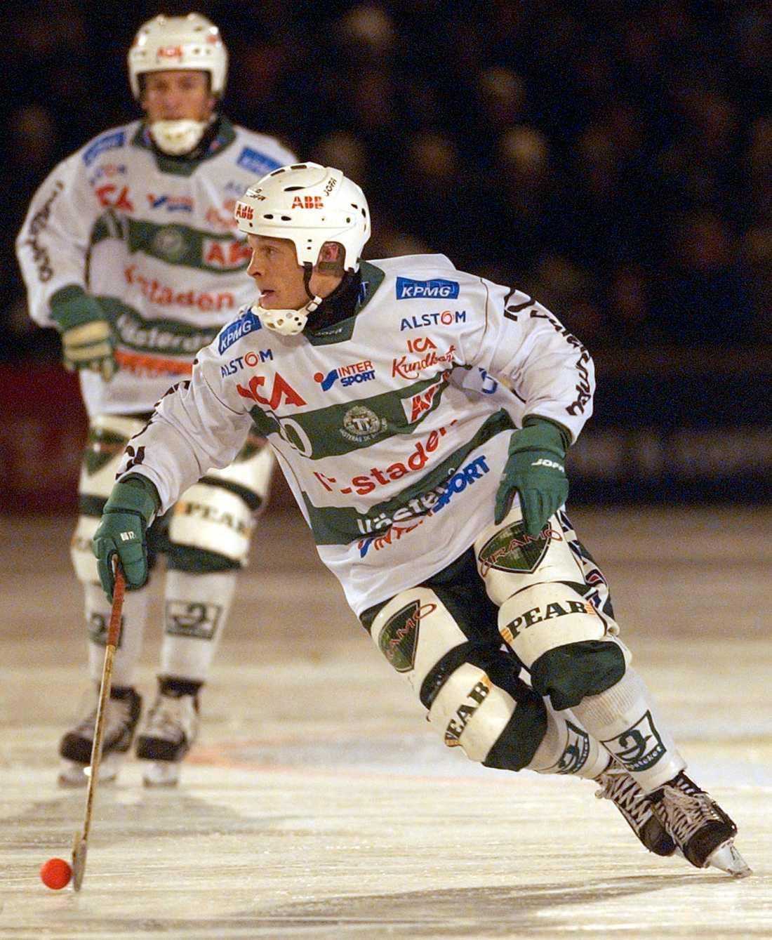 Per Fosshaug vann sex SM-guld med Västerås.