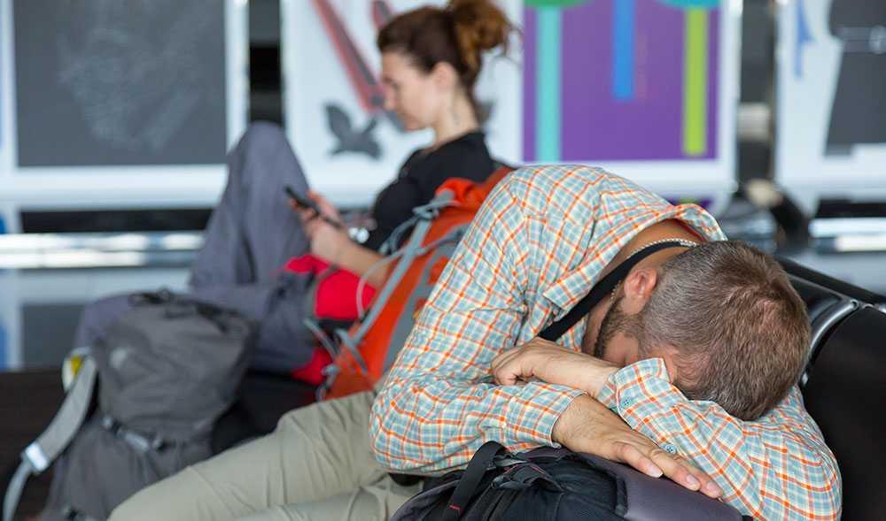 Du har rätt att få information om dina rättigheter direkt på flygplatsen när flyget ställs in.