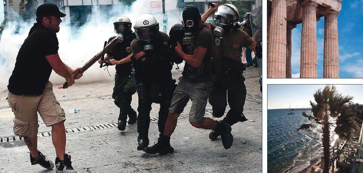 Obalans i Eurozonerna Paradiset i Grekland håller på att spolas bort. Men det är inte bara obalans i Grekland, krisen styr i dag det politiska samtalet i hela Europa.