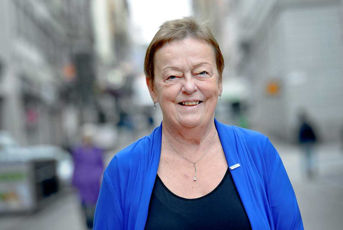 PRO:s ordförande Christina Tallberg