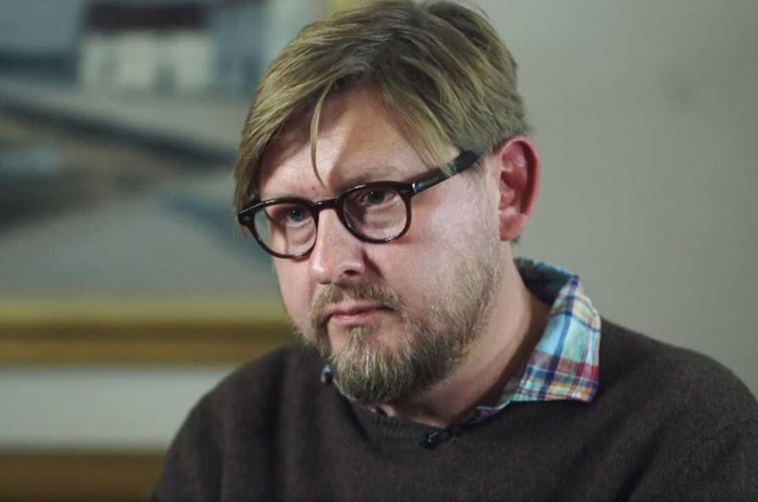 Fredrik Virtanen i SVT:s Uppdrag Granskning.